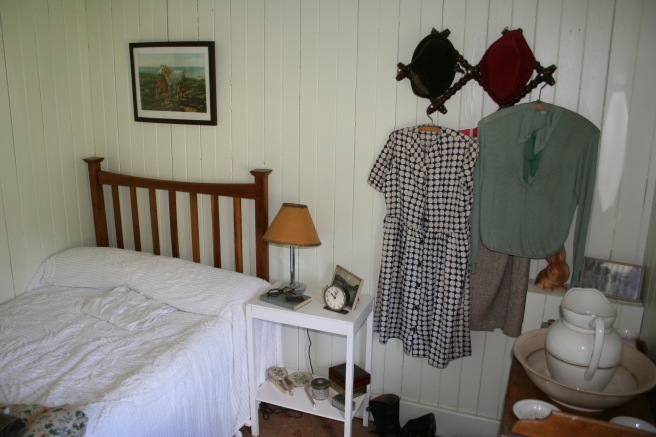 Schlafstube eines Cottage in den 20er-30er