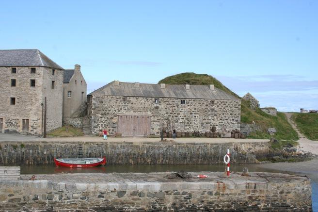 Portsay Harbours, ein alter Hafen