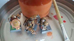 Warhammerfiguren meiner meiner Söhne