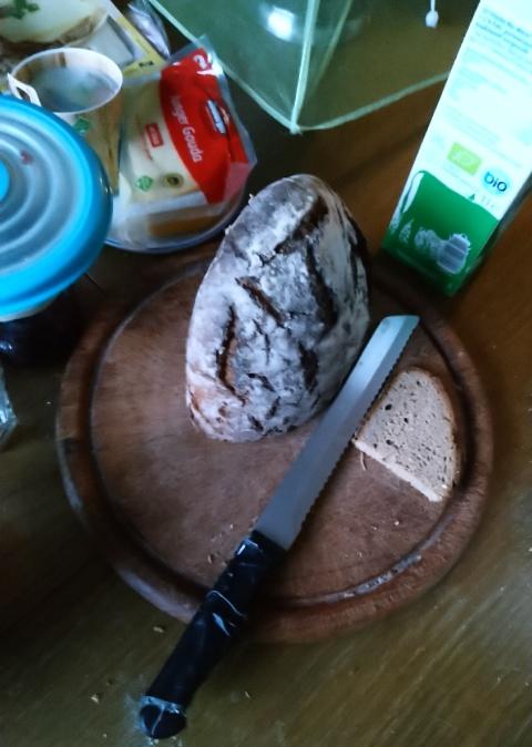 späteres Frühstück